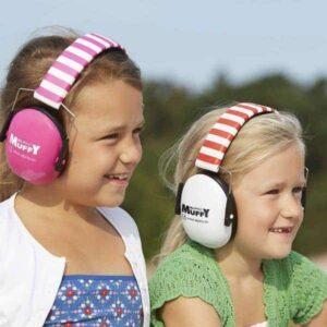 Oorkappen gehoorbescherming voor kinderen verkrijgbaar bij banaaninjeoor.com