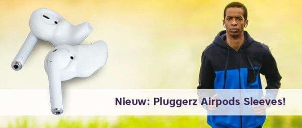 Airpods Sleeves opmaat gemaakt verkrijgbaar bij Banaan in je oor